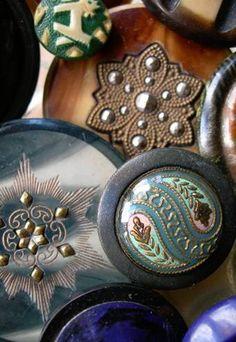 Vintage Celluloid Buttons