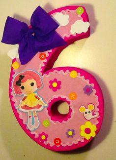 Piñata Lalaloopsy fiesta muñecas lalaloopsy por aldimyshop en Etsy
