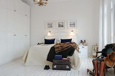 White Swedish Apartment with History ♥