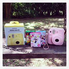 Today marks ONLY 1 WEEK Until My HUGE #SUMMER #GIVEAWAY Goes LIVE on June 7th Only on #GlitterForever17! Here is an ELECTRONIC Sneak Peek #8! Want to win 1 of 3 Cute  Colorful Instax Mini 8 Instant Cameras w/ Film  MORE?  Subscribe to YouTube.com/GlitterForever17, LIKE  SHARE this post using the hashtag #BrelandsGiveaway and you will be ready to go! OVER 300 SUMMER PRIZES UP FOR GRABS!
