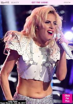 Lady Gaga Had Pastel Pink Hair At The Super Bowl — Get Exact Style HowTo
