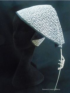Hatstruck Couture Millinery: Classic Millinery Techniques: My Love Affair With Buckram Covered Hats