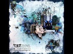 'Simple Things' start to finish layout for Lindy's Stamp Gang - YouTube