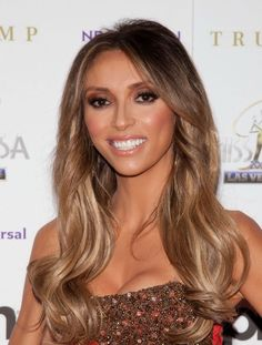 cute light brown ombre  hair with highlights