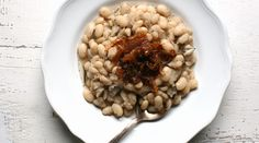 White Beans with Rosemary and Caramelized Onions | Recipes - Make from scratch for a  satisfying texture and taste. PureWow