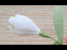 Подарки своими руками.Цветы из гофрированной бумаги своими руками Поделки с детьми! - YouTube