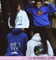 Couple Sweatshirts…