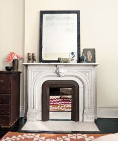 5 Ways to Dress Up an Unused Fireplace