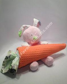 Easter Bunny Diaper Cake http://babyfavorsandgifts.com/easter-bunny-diaper-cake-p-172.html
