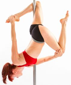 New Moves from the Spin City Pole Bible - Brass Monkey Twisted Grab: http://www.spincityinstructortraining.com/shop