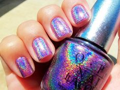 OPI Holographic Nail Polish - Best Holographic Nail Polish For Women