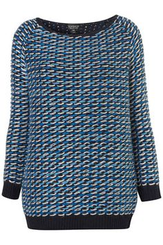 Knitted Loop Stitch Jumper