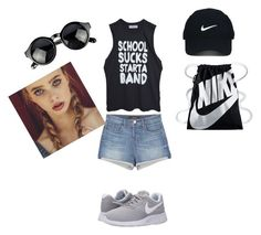 """""""Untitled #31"""" by elma-camdzic ❤ liked on Polyvore featuring High Heels Suicide, J Brand, NIKE and Nike Golf"""
