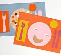Fun Kids Placemats Teaching Table Manners