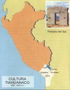 Se desarrolló 400 a.C. – 1000 d.C. al S.E. del Lago Titicaca,  en el actual territorio de Bolivia, pero su influencia llegó hasta el sur del Perú en Tacna, Moquegua y Arequipa y por el norte hasta Ayacucho.