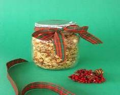 In My World . Granola, Jar, Homemade, Desserts, Blog, Recipes, Spritz Cookies, Best Gifts, Gourmet Gifts