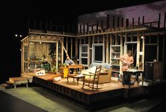 Fifth of July. Scenic Design by Jared Roberts.