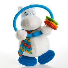 R/ätt Start Mumin Style Musical Pull String Baby Toy