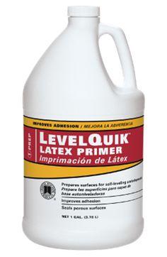 LevelQuik® Latex Primer | Custom Building Products