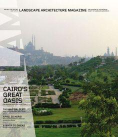 New landscape architecture magazine 2012