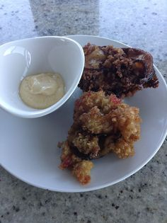 Deep Fried Oysters Deep Fried Oysters, Garlic Oil, Olive Oil, Oatmeal, Lime, Breakfast, Recipes, Food, The Oatmeal