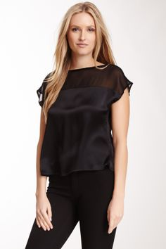 Alice & Trixie June Silk Top on HauteLook