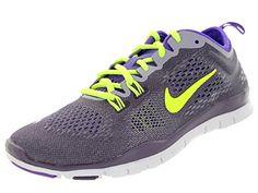 new styles c1348 8bd1a Nike Womens Free 50 Tr Fit 4 Drk RsnVltHypr GrpPrpl Stl Training Shoe 55  Women US