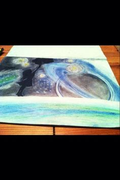 I like the idea of an infinite universe Infinite Universe, Night, Artwork, Painting, Drawing S, Work Of Art, Painting Art, Paintings, Paint