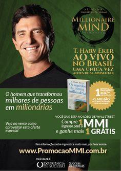 Panfleto promocional para evento internacional Campanhas SP/RJ