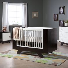 Have to have it. Dutailier 2 in 1 Convertible Crib Collection $1199.99