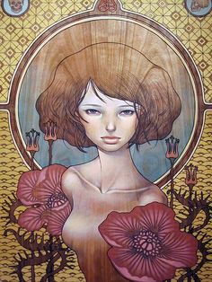 Artist Audrey Kawasaki