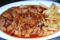 Callos caseros a la asturiana Meat Recipes, Mexican Food Recipes, Cooking Recipes, Ethnic Recipes, Spanish Cuisine, Spanish Food, Slow Food, Pot Roast, I Foods
