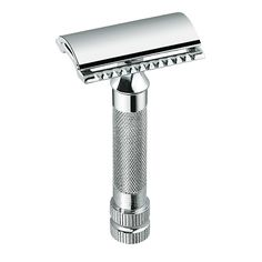Shaving & Hair Removal Aggressive High Quality Men Safety Classic Old Style Chrome Silver Double Edge Shaver Shaving Hair Blade Straight Razor Barber Razor Aromatic Flavor Beauty & Health