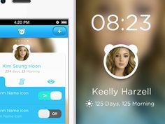 Face+Alarm screen_Edit,main screen