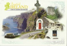 Private swap - The postcard came from Ireland.