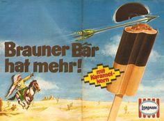 Brauner Bär - Langnese Eiskreme :-)