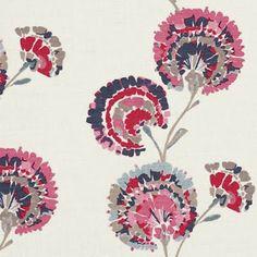 floral fabric via print & pattern blog