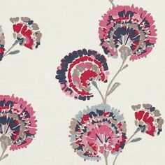 floral fabric via print & pattern blog