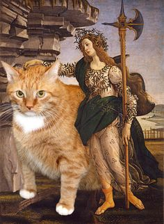 Pallas and the Cat by Svetlana Petrova, starring Zarathustra the cat.