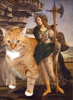 Pallas and the Cat by Svetlana Petrova, starring Zarathustra the cat.