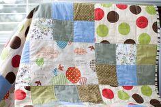 hot air balloon patchwork quilt