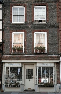 Cobbles | Portsmouth, UK and you could live above your shop....