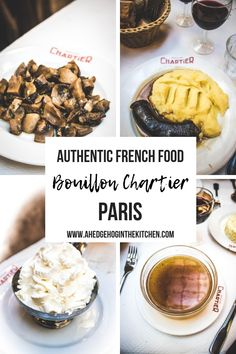 BOUILLON CHARTIER PARIS // One of our favorite things to do in Paris is eat lunch at this traditional and authentic Parisian cafe! You will love all of the tasty French food you can eat at Bouillon Chartier. // #bouillonchartier #pariscafe #parisiancafe #parisrestaurant #paris #france
