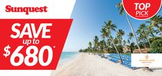 Save up to $680 per couple per week at select Sunscape Resorts & Spas http://www.sunquest.ca/en/sunscape-resorts-spas