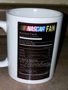 Nascar Fan coffee Mug