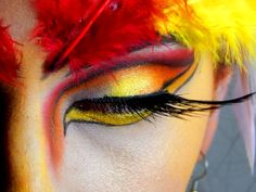 Feather Makeup