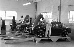AC Cobra production line.