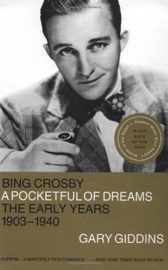 Artie Shaw called Bing Crosby the first Hip white persson born in U.S. Reading Bing Crosby: A Pocketful of Dreams-the Early Years, 1903-1940 by Gary Giddins