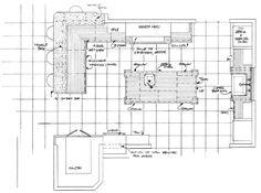 Island Kitchen Floor Plan With Work Triangle galley kitchen design floorplan with island |  galley design