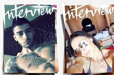 The September issue of 'Interview' is dedicated to celebrity selfie #Fashion, #Instagirls, #Vogue